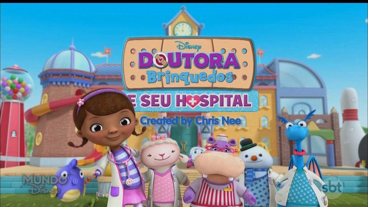 Abertura Doutora Brinquedos E Seu Hospital Mundo Disney Sbt