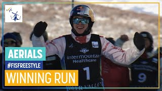 Noe Roth | Aerials | Deer Valley | 1st place | FIS Freestyle Skiing