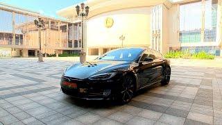 Лукашенко протестировал Tesla