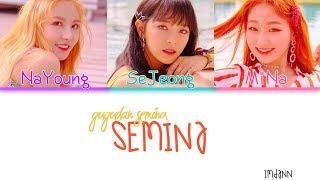 gugudan SEMINA - SEMINA  Sub. Español + Color Coded  (HAN/ROM/ESP)
