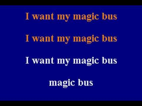 The Who -  Magic Bus - Karaoke