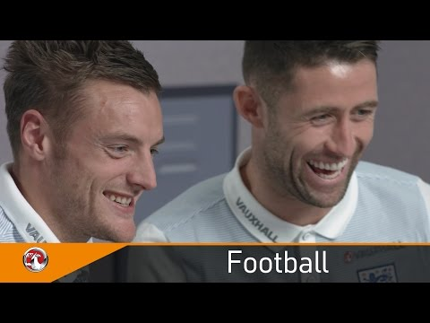Vauxhall Fan Hotline | Vardy and Cahill Surprise England Fans