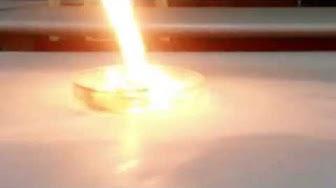 KARPİT TAŞI ( kalsiyum karbür) suyla sönmeyen ateş