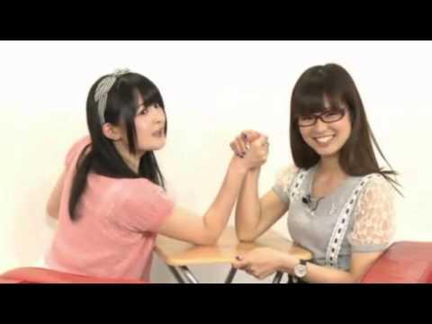 【西明日香vs 渕上舞】腕相撲対決