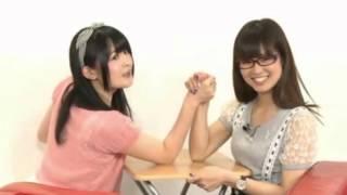 Seiyuu arm wrestling.
