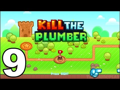 Kill the Plumber World - Gameplay Walkthrough Part 9 - World 7: Levels 97-108 (iOS, Android)