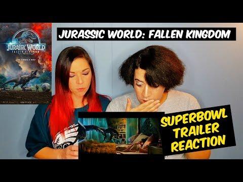 Jurassic World: Fallen Kingdom Super Bowl Trailer REACTION