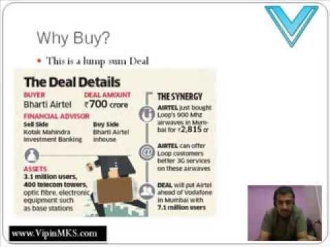 Bharti Airtel Ltd Buys Loop Mobile Pvt Ltd (General Awareness) - Professor Vipin
