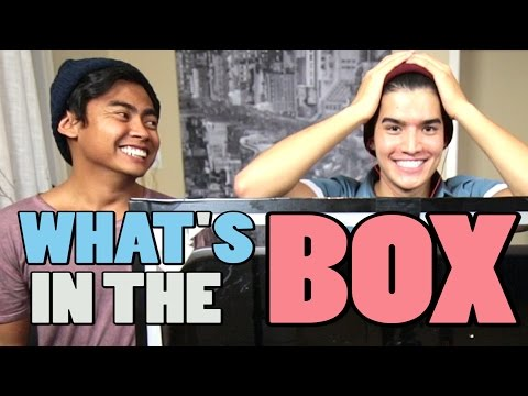 WHAT'S IN THE BOX CHALLENGE!