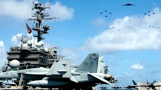 War (June 22) US navy Carrier USS Ronald Reagan do Sudden Attack to China who tried to annex Taiwan