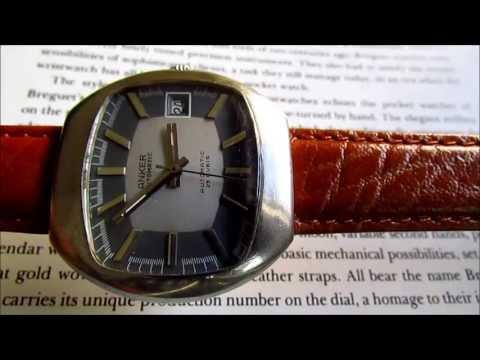 Anker 25 jewels automatic  vintage wrist watch 1960s