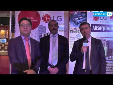 Iceberg Industries, LG Electronics and IMEKSAN at 23rd HVACR Expo Pakistan