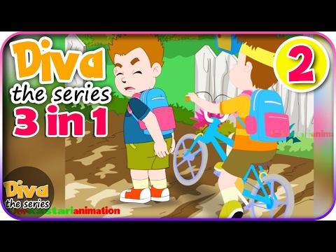 Seri Diva 3 in 1 | Kompilasi 3 Episode ~ Bagian 2 | Diva The Series Official