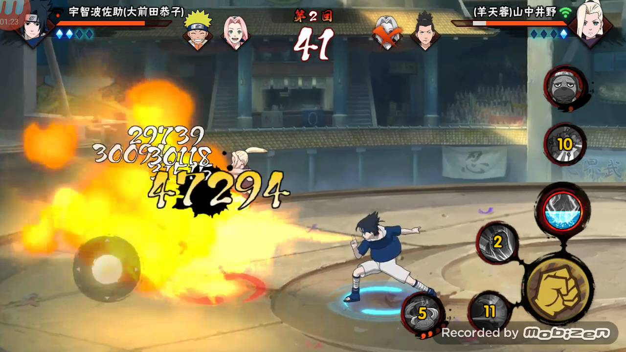 Naruto mobile android gameplay: PvP mode