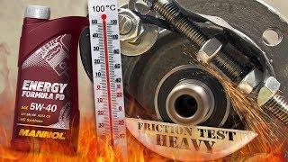 Mannol Energy Formula PD 5W40 Jak skutecznie olej chroni silnik? 100°C