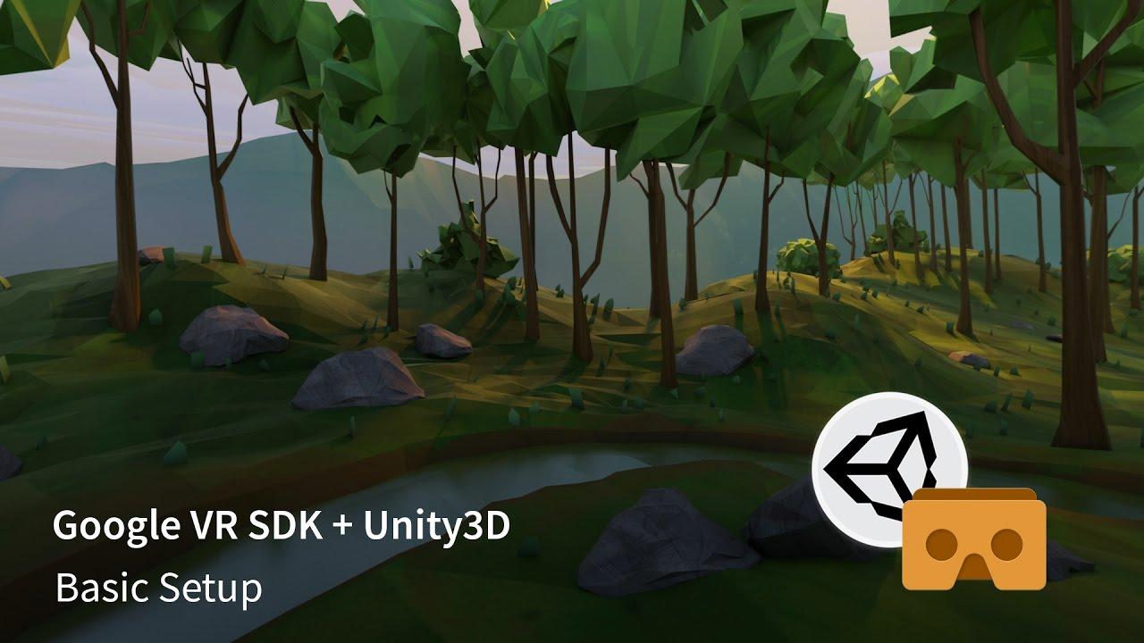 Google VR SDK v1 1 + Unity3D - Basic Setup
