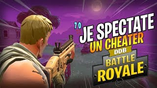 JE SPECTATE UN CHEATER AVEC UN AIMBOT ! FORTNITE BATTLE ROYALE GAMEPLAY FR