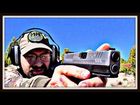 Springfield XDM .40 vs. XDM 3.8 .40 - Shooting Two Great Guns