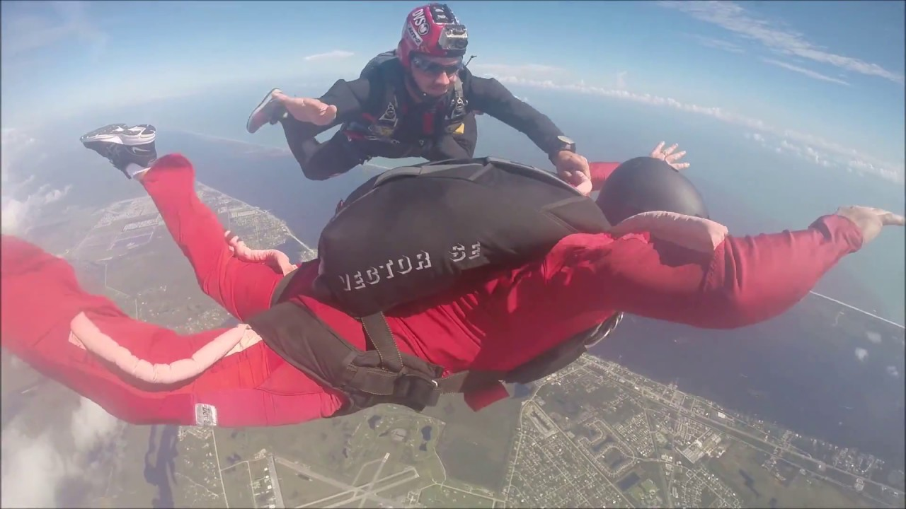 Aff Skydive Certification Jumps Youtube