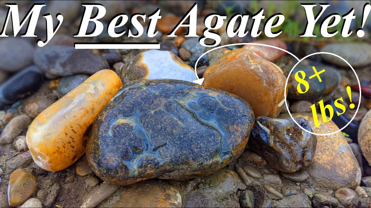 Over 8 Pounds!? My BEST AGATE Yet! Finding Big Agates and Endless Treasures on the Yellowstone!