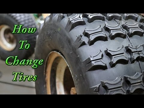How to Change a Tire: Go Kart, ATV, and Golf Cart Tire Mounting