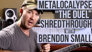 "Metalocalypse - ""The Duel"" SHREDTHROUGH with Brendon Small"