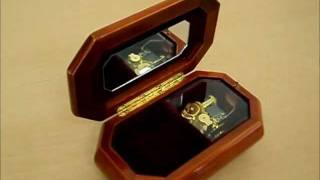 Piano Wood Musical Jewellery Box Demo