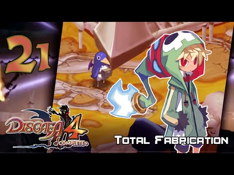 Disgaea 4+ Complete - Walkthrough - Stage 21: Total Fabrication [Ch. 4-3] |