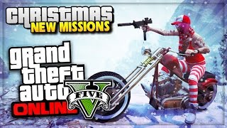 GTA 5 Online Snow DLC is HERE!! & Christmas DLC 2014 (GTA 5 Snow Gameplay)