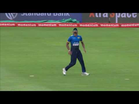 South Africa vs Sri Lanka - 5th ODI - Faf du Plessis - Wicket