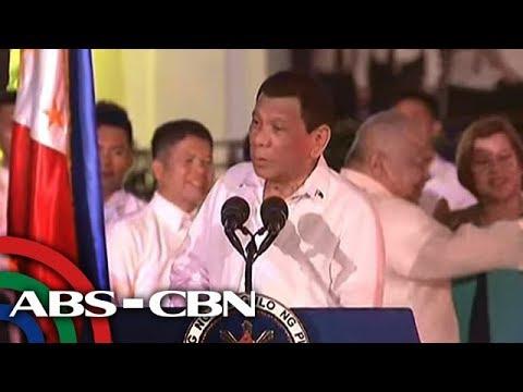 Bandila: Duterte, nagbiro ukol sa 'pagma-marijuana'