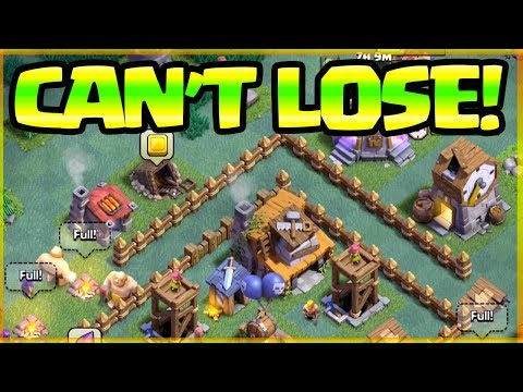 CAN'T LOSE! Builder Hall 4 Clash of Clans - Strategy / Base Designs and MORE!
