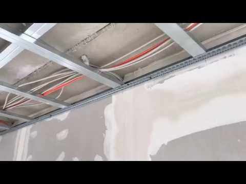 Как работают электрики в Германии ( нужна ли гофра на потолке?)