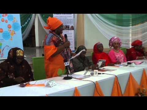 UNFPA Representative Madam Rati delivering the E.D message