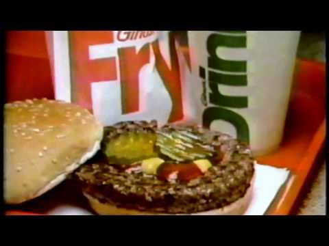 Ginos Hamburgers - 1979 Commercial