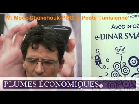 Moez Chakchouk PDG de la Poste Tunisienne