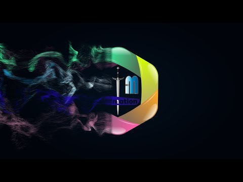 After effects tutorial: Particles-Logo animation. (Just only Particular)