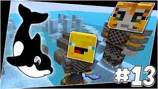 Minecraft - TIME TRAVELLERS! - Flipee The Whale! #13 W/Stampy & Ash!