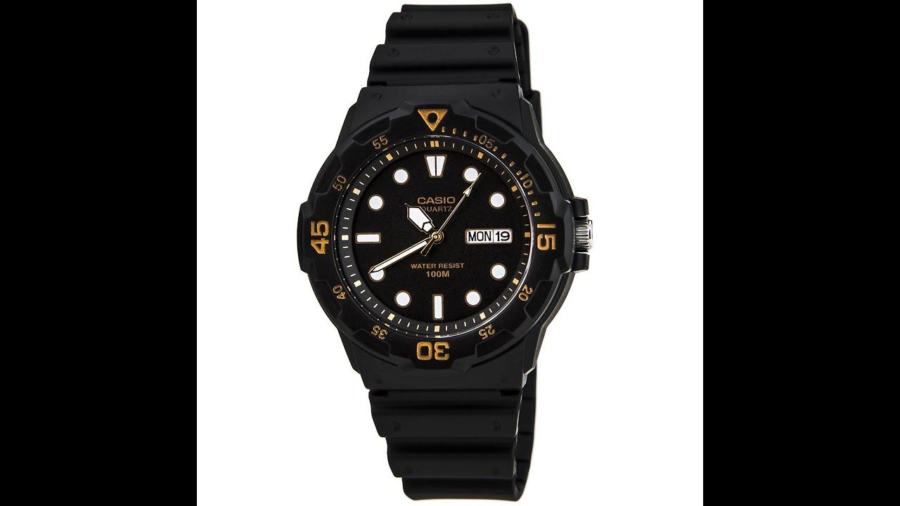 Elbplanke Ä Tännsch N Please: Casio MRW200H-1E Men's Classic Sport Black Dial Dual Time