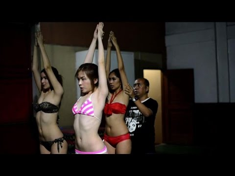 Philippine Cinderellas Attend Beauty Pageant Boot Camp