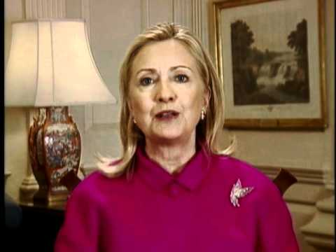 Secretary Clinton Delivers a Video Message to Experience America: Los Angeles