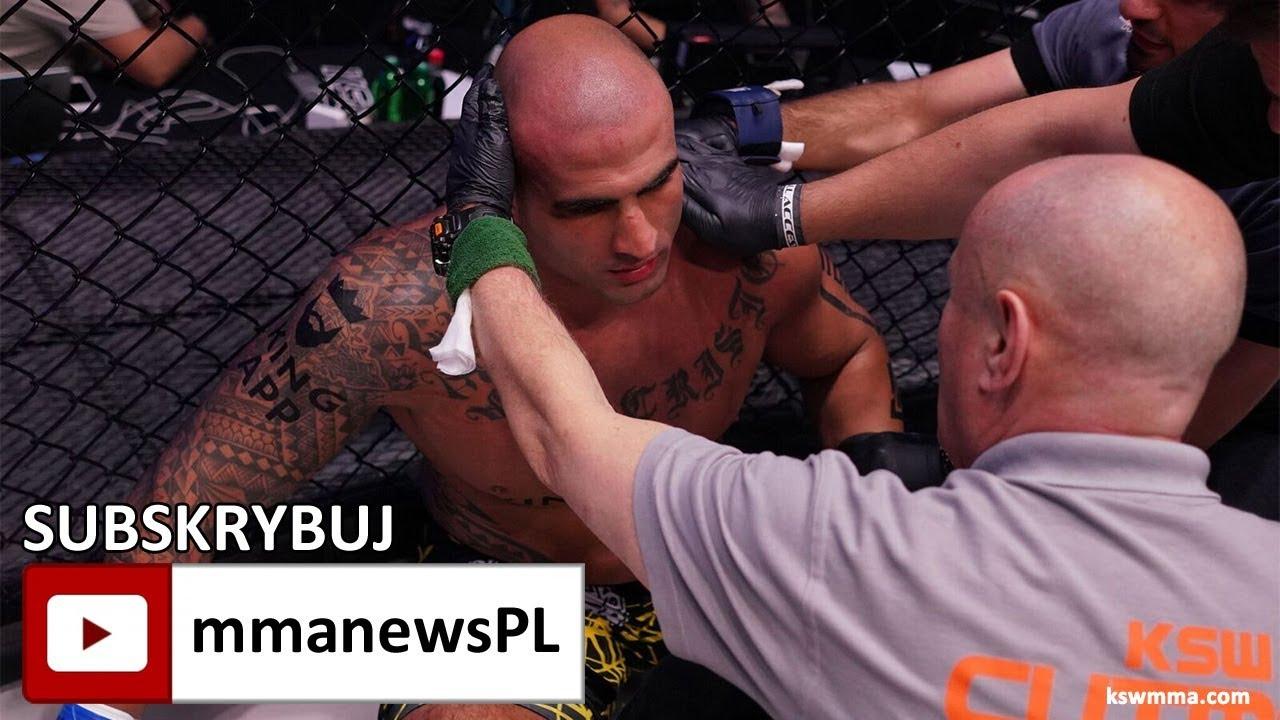 KSW 41: Znokautowany Fernando Rodrigues Jr wciąż liczy, że odzyska mistrzowski pas