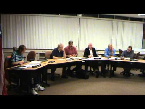 Greensburg IN City Planning Commission meeting of 9-17-13 part 2 of 2.