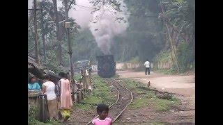 Steam of Tipong Coal Mines Railway  India(Apr.2008) 4 インド ティポン炭鉱鉄道の蒸気機関車(2008年4月) 4