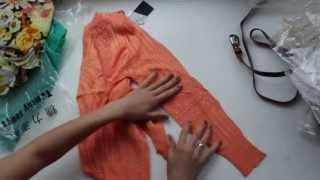 Обзор посылки из Китая / TAOBAO. Женская одежда.