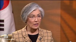 South Korean Foreign Minister says there can't be another war on the Korean peninsula