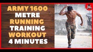 Army 1600 Metre Running 🔴LIVE Training Workout 🏃🏃🏃🕓⏳🕓⏳4 Minutes|🇮🇳🇮🇳🇮🇳 FITNESS FIGHTER