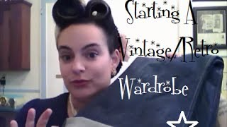 Starting your retro/vintage/rockabilly wardrobe with basics you already have