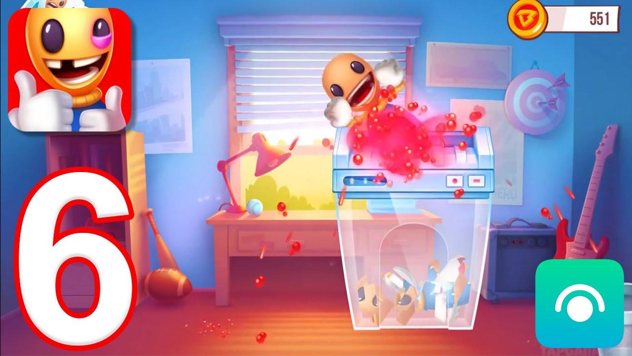 Kick the Buddyman: Origins – Gameplay Walkthrough Part 6 – Premium Weapons #2 (iOS)
