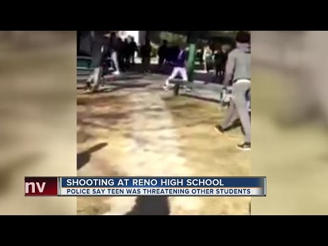 Teen shot by officer at Reno high school allegedly had knife